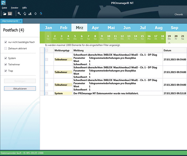 PROmanage Screenshot